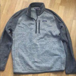 NWOT Patagonia mens better sweater 1/4 zip